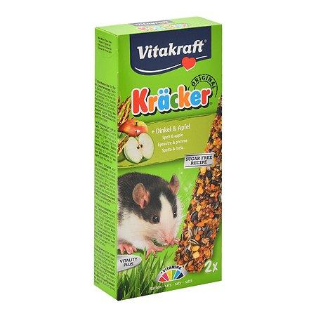 Лакомство для крыс Vitakraft Крекеры кукуруза-фрукты 2шт 25140