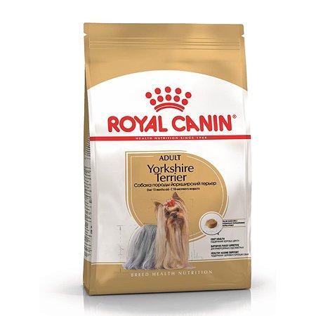 Корм для собак ROYAL CANIN породы йоркширский терьер 3кг
