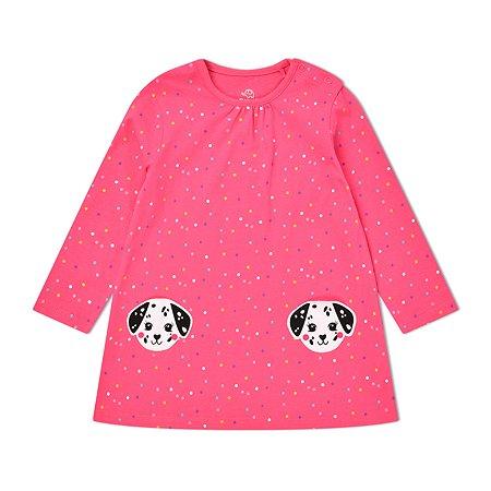 Платье BabyGo фуксия