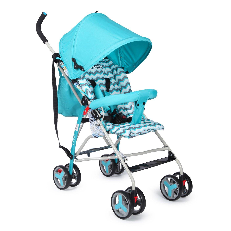 Коляска прогулочная Babyton Light Blue WLX101A