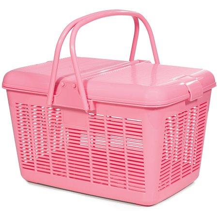 Переноска для кошек Triol 1005-3 S Розовая