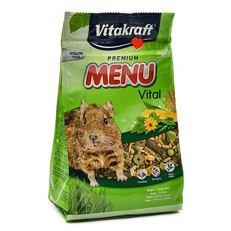 Корм для дегу Vitakraft Menu 600г 25143