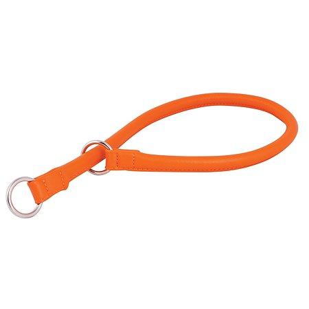 Ошейник-удавка для собак CoLLar Glamour рывковый Оранжевый 75404