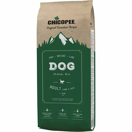 Корм для собак Chicopee PNL ягненок и рис 20кг