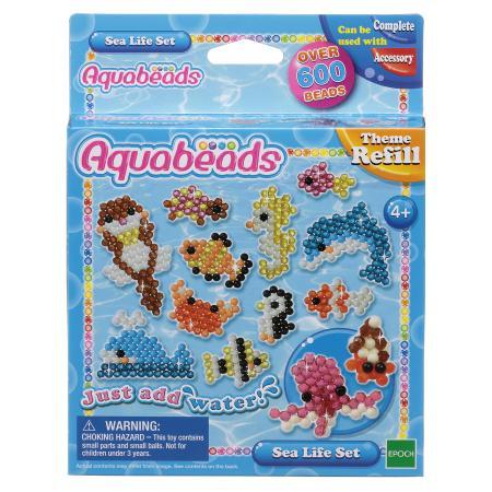 Тематический набор бусин Aquabeads Морские животные - купить в интернет магазине  Детский Мир в Москве и России, отзывы, цена, фото a0bfd167c86