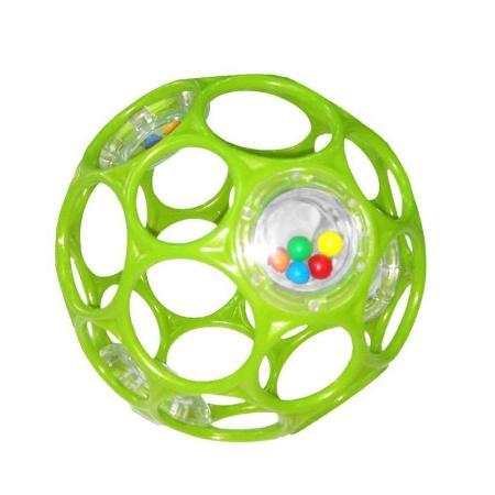 Мячик Гремящий Oball 0 мес.зелёный