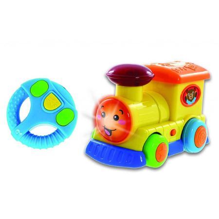 Игрушка р/у BabyGo Мультяшки на колёсах Паровозик