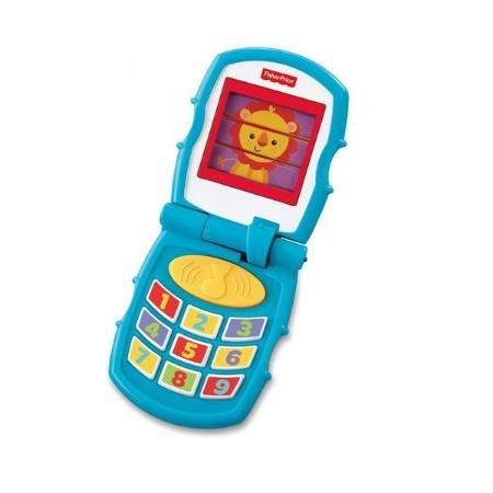 Дружелюбный  телефон Fisher Price раскладной