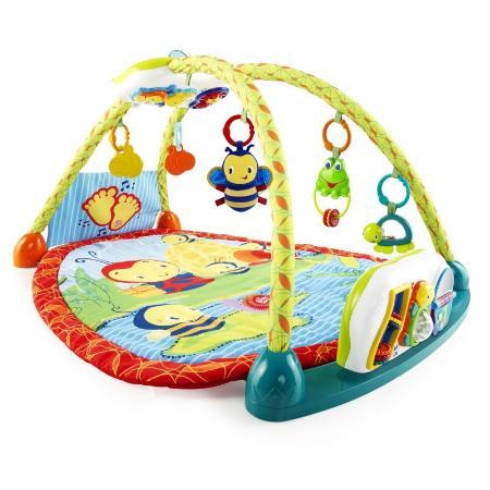 Развивающий коврик Bright Starts 2 в 1 Чудесное озеро с игровой панелью-столиком