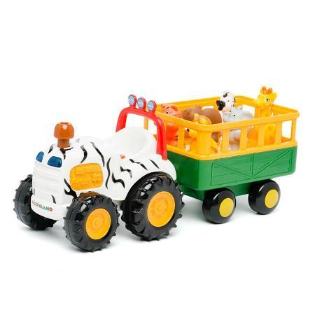 Развивающий центр Kiddieland трактор Сафари