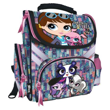 Школьный рюкзак littlest pet shop рюкзак herlitz be bag cube smiley golden rock