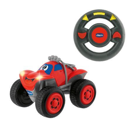 Машинка Chicco Билли-большие колеса красная