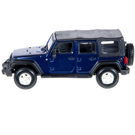 Машинка bburago 1:32 2007 jeep wrangler unlimited rubicon 18-43000(4