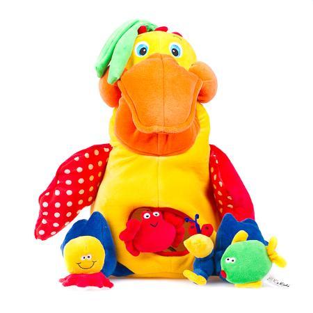 Голодный пеликан K's Kids с игрушками