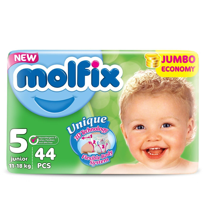 Подгузники Molfix Comfortfix Джуниор 5 11-18кг 44шт - купить в ... e470dbc245b