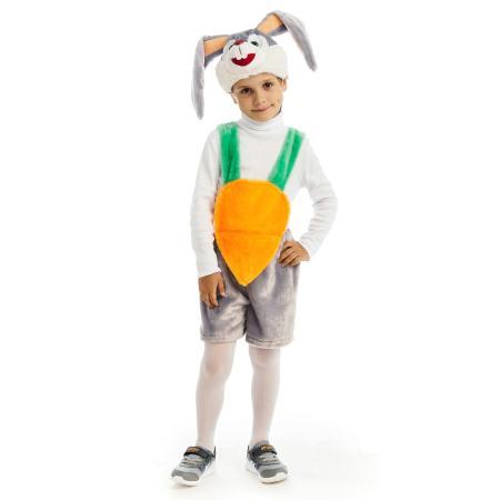 Костюм карнавальный Карнавалия Кролик 122-60-51 4-7лет 89076 - купить в  интернет магазине Детский Мир в Москве и России 583c99173134f