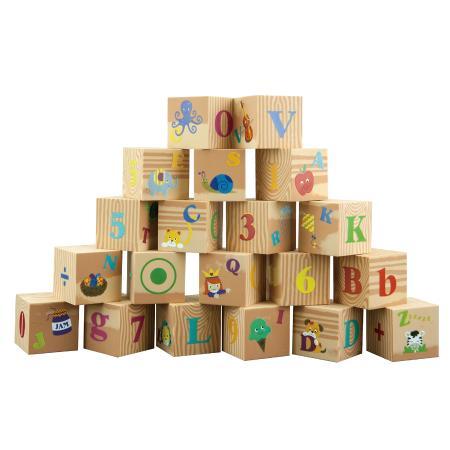 Мягкие кубики Little Hero Буквы и цифры