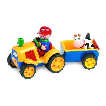 Трактор Tolo Toys с прицепом