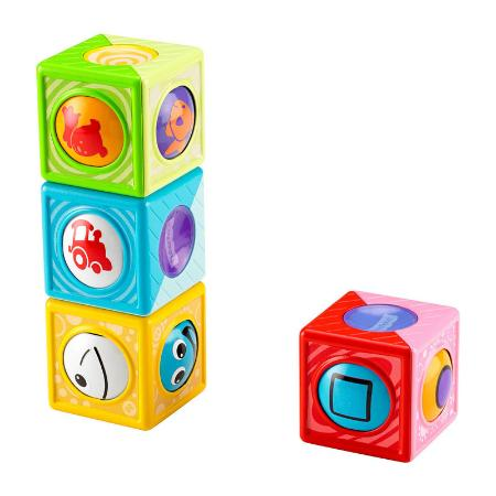 Волшебные кубики Fisher Price развивающие (в асс.)
