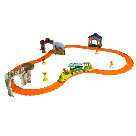 Железная дорога Поезд динозавров Большое Дино-путешествие