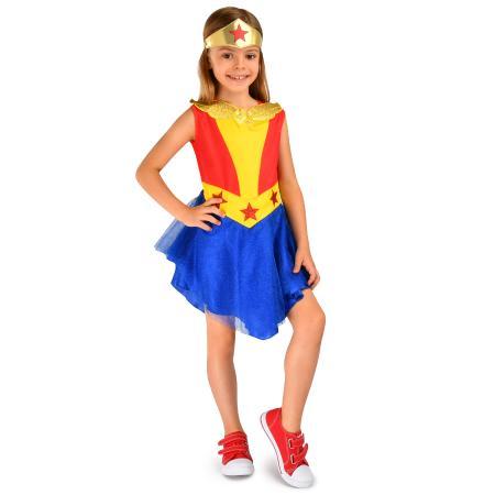 Костюм карнавальный Rubies Wonderwoman G31978 - купить в интернет магазине  Детский Мир в Москве и России 047851756ac28