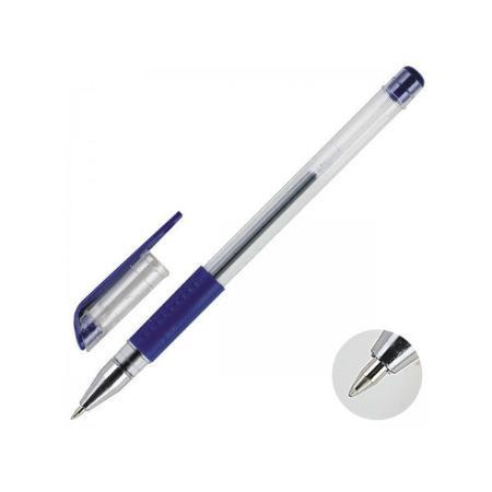 Гелевая ручка Index IGP602/BU синий 0.5 мм  IGP602/BU