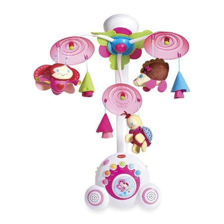 Многофункциональный мобиль Tiny Love Бумбокс розовый