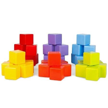 Кубики Рославльская игрушка Детские 36 штук