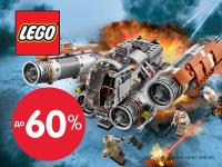 Скидки до 60% на конструкторы LEGO!