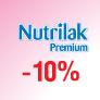 Скидка 10% на Nutrilak Premium 1, 2!