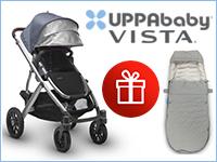 При покупке коляски 2в1 UPPAbaby Vista — конверт в подарок