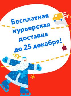 Бесплатная курьерская доставка в Челябинске!